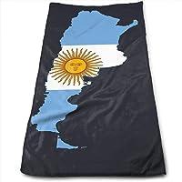 huibe Mapa de la Bandera de la Toalla de Argentina