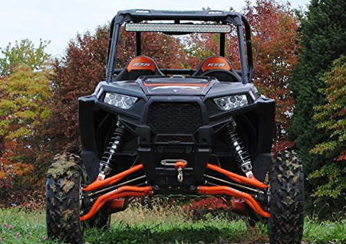 Super ATV Black (2017+) Polaris RZR 1000 High Clearance Upper and Lower A-Arms