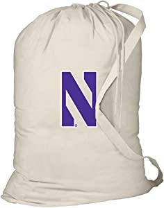 Broad Bay Northwestern Laundry Bag Northwestern University Dirty Clothes Bag