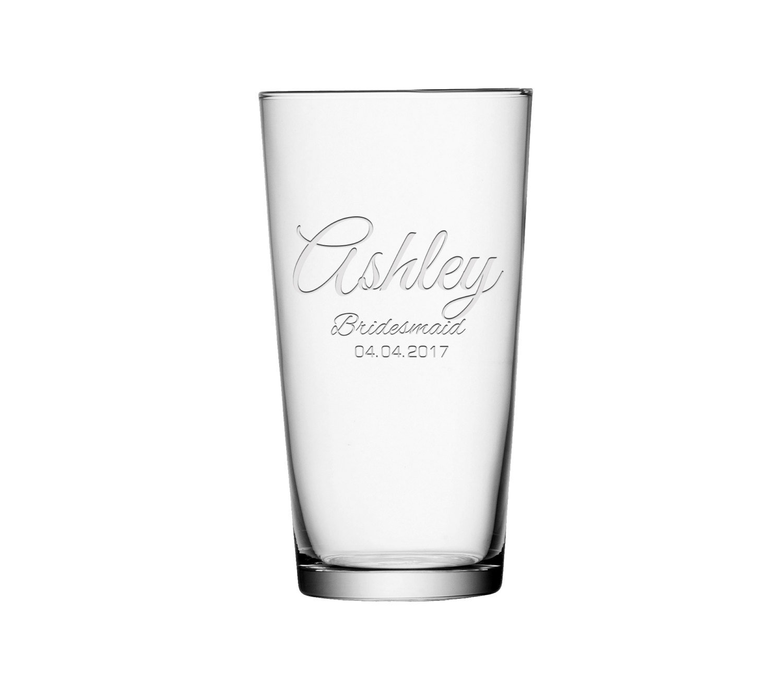 Amazon.de: Personalisierte Bier Glas, individuelle Gravur Bier Glas ...