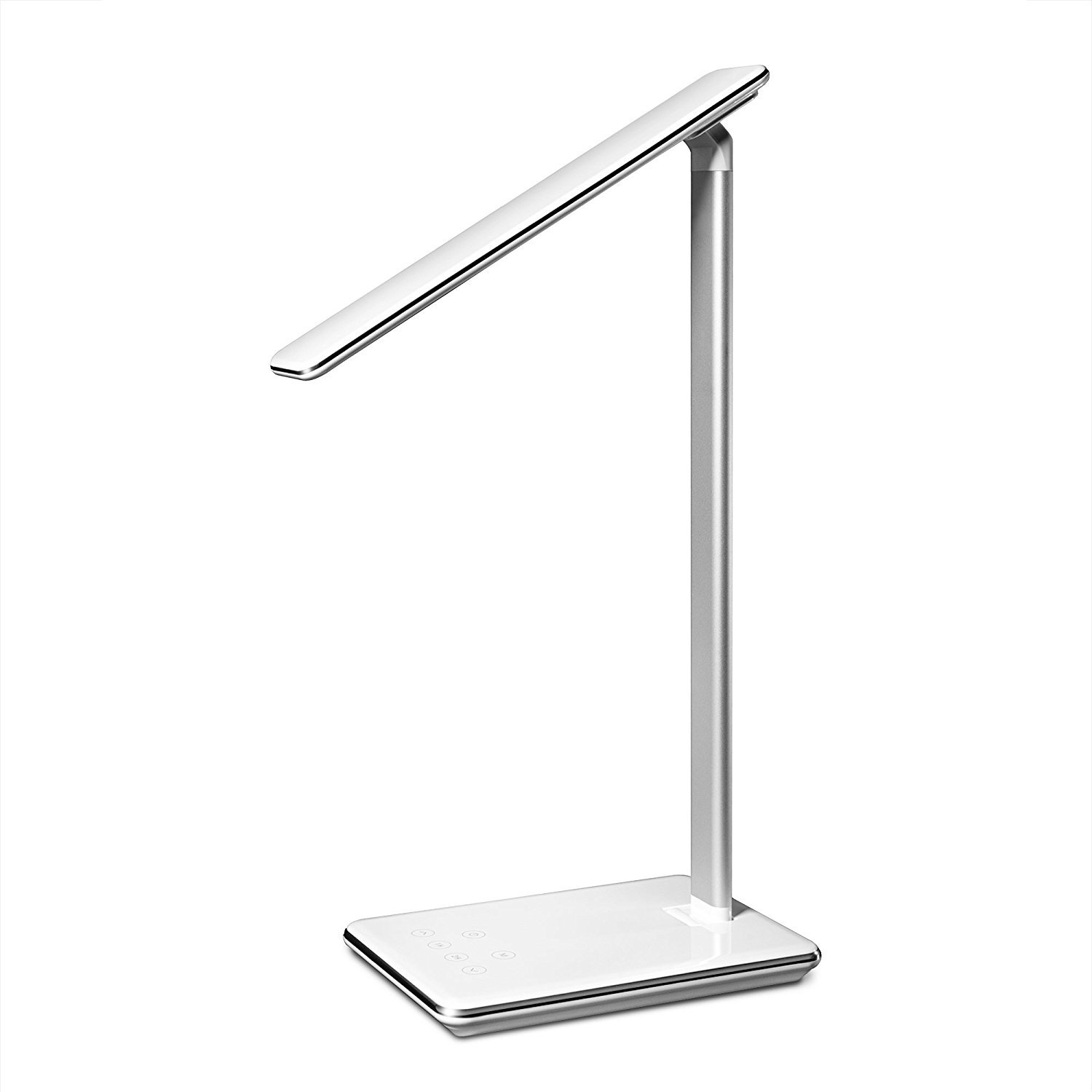 Beta Eye Caring Office Lamp, Brightness Adjustable LED Table Lamps, with USB Charging Port,Touch Control,4 Color Temperature,Timing Power Off,for Office,Bedside,Computer,Reading,Studying