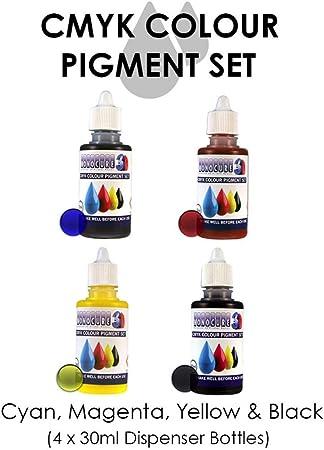 Monocure 3D 3DP-CMYK-SET Tintas del juego de pigmentos CMYK para ...