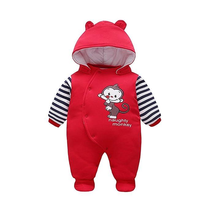 Amazon.com: Unisex invierno Pelele naughty monkey pijama ...