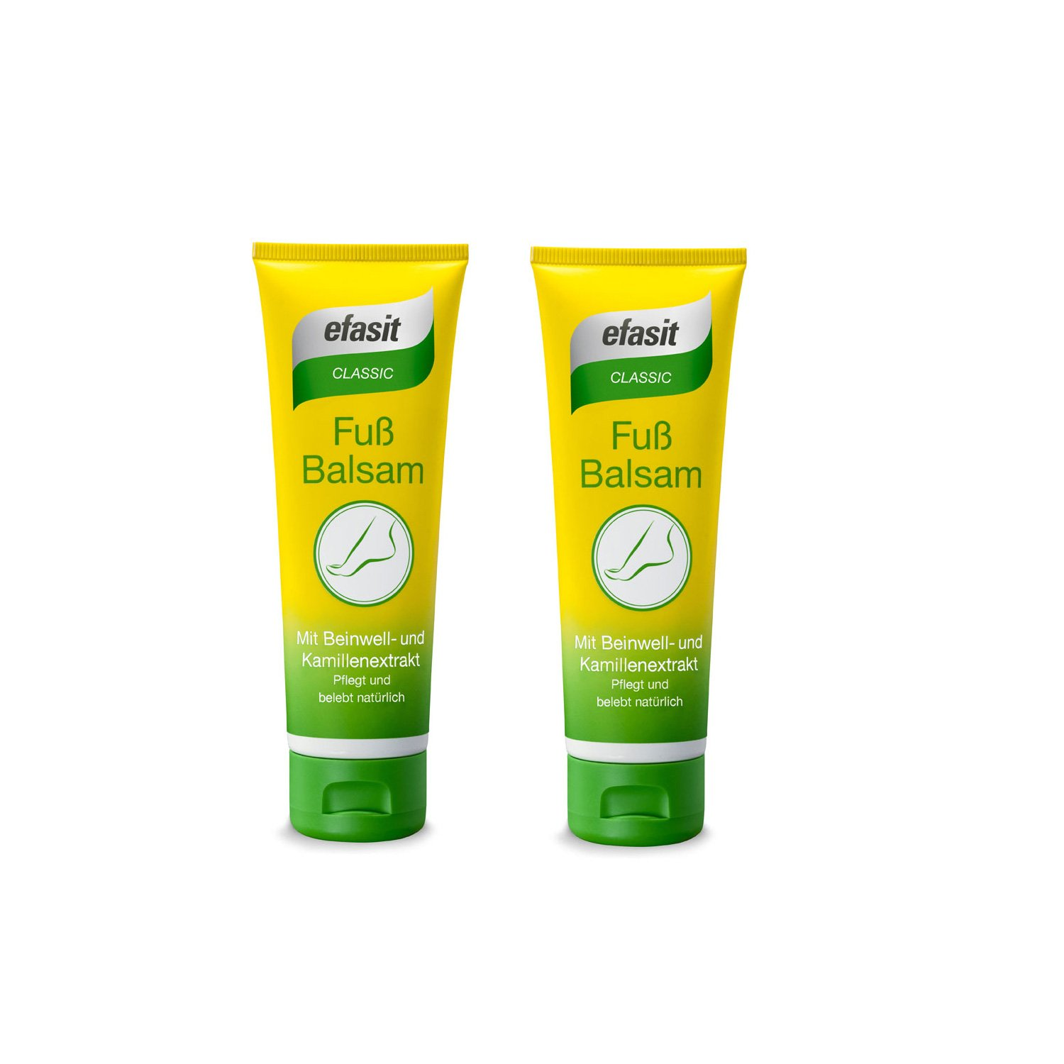 EFASIT Classic Foot Balsam - for the Everyday Requirement Pack of 2 (2x75ml) Togal