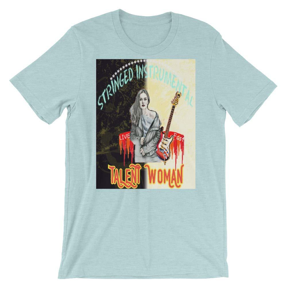 ISTABOCA Short-Sleeve Unisex T-Shirt Talent Guitar