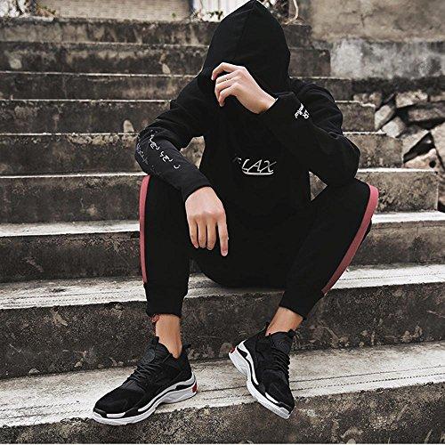 Version Laufschuhe Schwarz Koreanische Freizeit Herrenschuhe Sneaker Turnschuhe xiaolin qwAf0IY