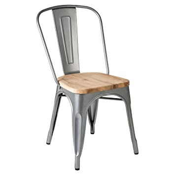 Aldgatemétro Chaise Revêtement Couleur Fabriqué Poudre Par Argent dxBerCo