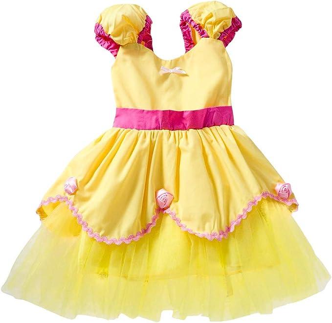 LSAltd Vestido para Niñas en Primavera y Verano Vestio Princesa ...