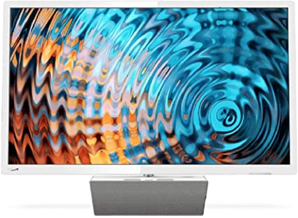 Philips Smart TV LED Full HD Ultrafino 32PFS5863/12, Televisor, HDMI/LAN/USB, 32 pulgadas, Blanco con base premium de altavoz bluetooth: Philips: Amazon.es: Electrónica