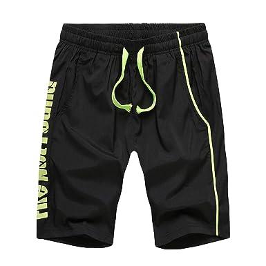 Innerternet-Pantalones de Hombre, Moda Casual Estampado de Letras ...