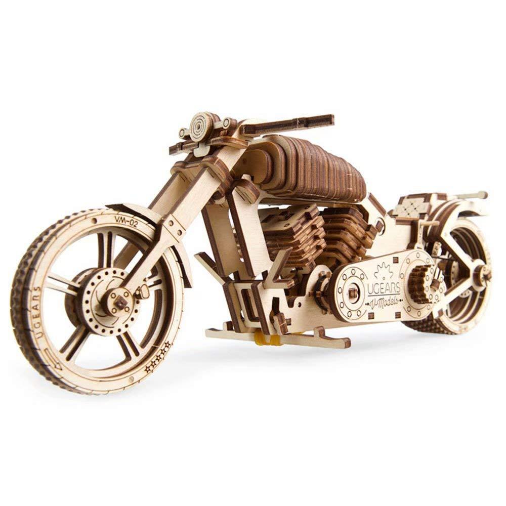 precios bajos UGEARS Modelo de transmisión mecánica de de de Madera Pesada Motocicleta Motocicleta Adulto DIY dificultad Alta Masculina  Seleccione de las marcas más nuevas como
