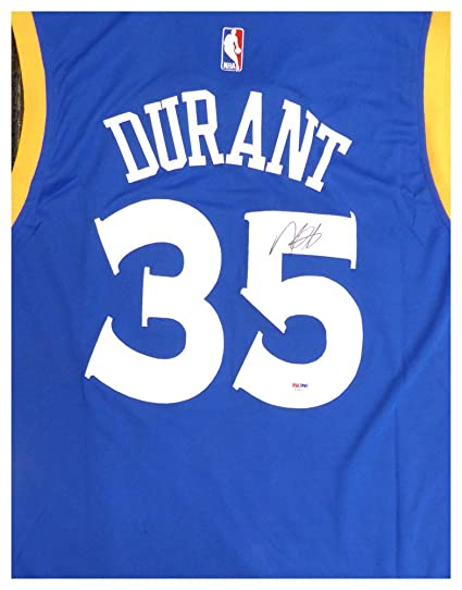 Image Unavailable. Image not available for. Color  Golden State Warriors  Kevin Durant Autographed Signed Adidas Blue Jersey ... c963f798e