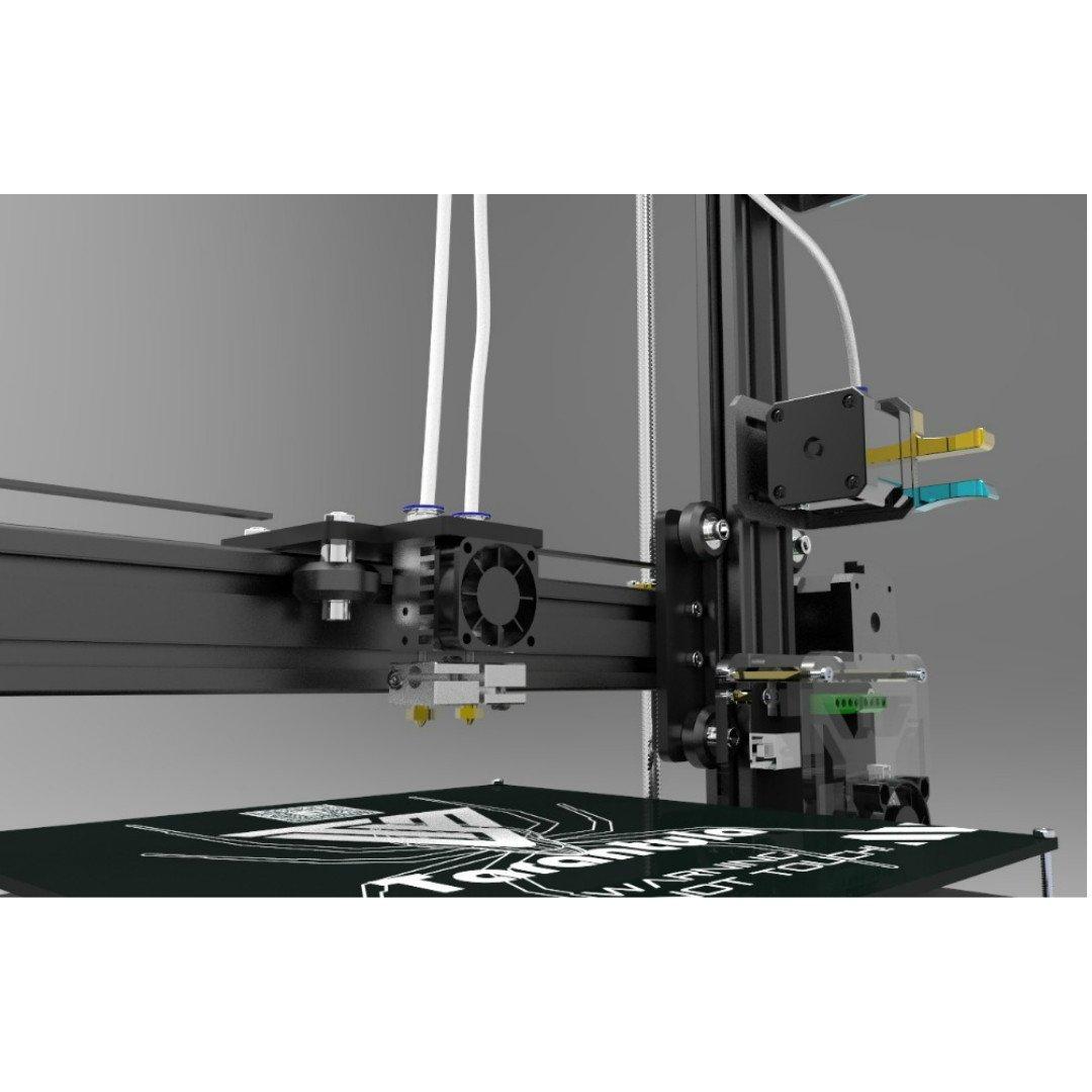 2016 Tevo Tarantula Prusa I3 Reprap 3d Printer Diy Kit 2 Rolls Limit Switch Wiring Diagram Of Filaments 8gb Sd Memory Card Dual Extruder Large Print Bed Auto Levelling