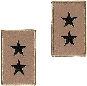 Genuine U.S. Navy Embroidered Rank: 2 Star: Rear Admiral Upper - Desert