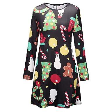 Mode Mutter Und Ich Outfits Langarm Kleid Eltern Kinder
