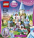 Disney Princess LEGO 646 PCS Cinderella's Romantic Castle Brick Box Building Toys