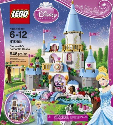 Disney Princess LEGO 646 PCS Cinderella's Romantic Castle...