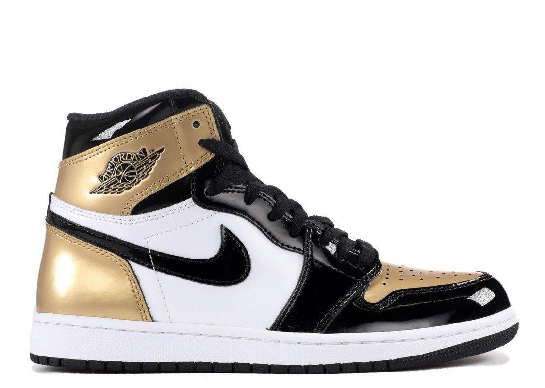 30e9c57a580b Amazon.com  Air Jordan 1 Retro High OG NRG Gold Top 3