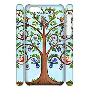 WJHSSB Customized 3D case Tree of Life for iPhone 5C