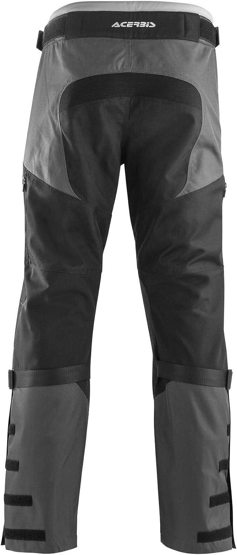 36 Taille = Fr 44, Noir Acerbis Pantalon Mx Pour Enduro 2018 One Baggy Noir Gris