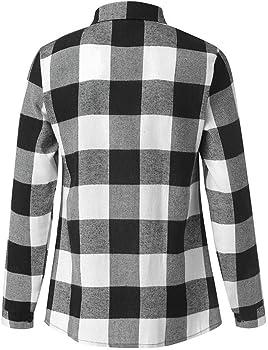 Sencillo Vida Camisas Cuadros Hombre Clásico Manga Larga Camisas de Hombre de Vestir Delgada Slim Fit Camisa Hombres Casual Formales Cuello de Solapa con Botones: Amazon.es: Ropa y accesorios
