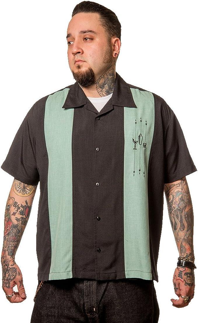 Steady Clothing Vintage Bowling Camisa – The Shake Down Retro Bowling Shirt