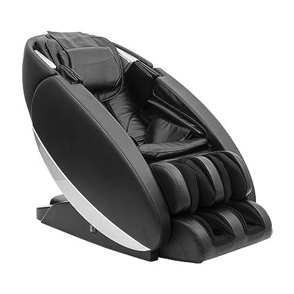 Poltrona massaggiante professionale Kundalini shiatsu ecopelle nera ...