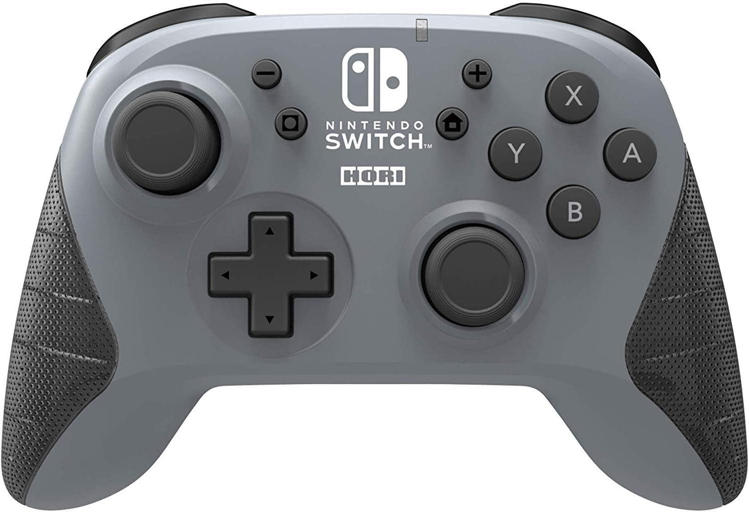 HORI - Horipad inalámbrico gris (Nintendo Switch): Amazon.es ...