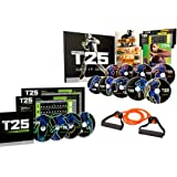 ZONEV Focus T25 Shaun T DVD Videos,25 Minutes Workouts Fitnes Program