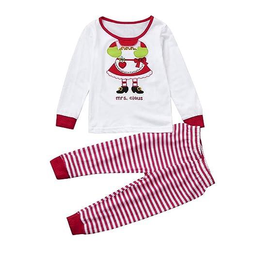 265ae0369 Amazon.com  WuyiMC Christmas Holiday Baby Toddler Pajamas