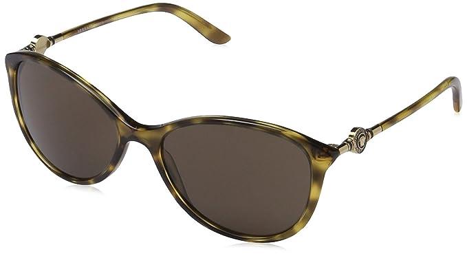 e91b8846c9d654 Versace femme 0VE4251 967 7357 Montures de lunettes, Marron (Spotted  Havana Brown