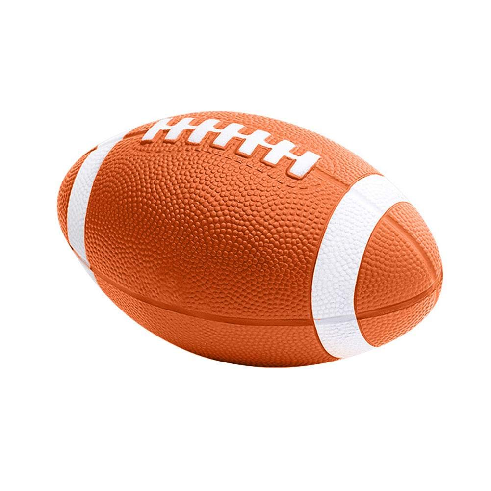 Teabelle American Football Size 9 Rubber for Student Adult Training Professional Competition Rugby Ball