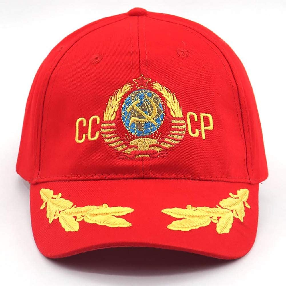YUANBAOG CCCP URSS 3D Bordado Moda Gorra de béisbol algodón ...