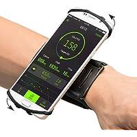 VUP Universal spor kol bandı iPhone 7, 7 Plus, 6s için, Samsung S8, S8 Plus, S7 Edge, Galaxy S5, 180 ° döndürülebilir el…