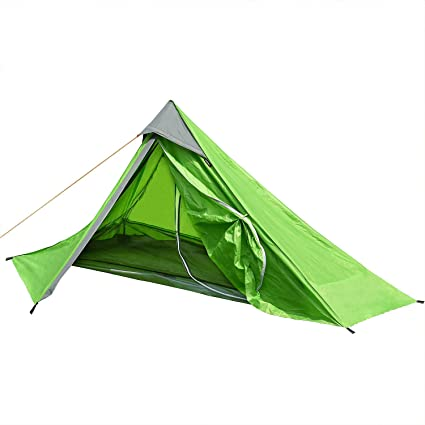 Outdoor Ultralight camping hiking travelling tent summer season 1,2 Person tent
