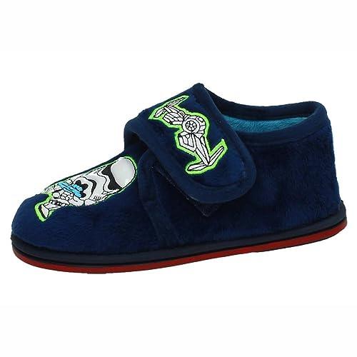 MORANCHEL 3717 BOTÍN DE Star Wars NIÑO Zapatillas CASA Azul 25: Amazon.es: Zapatos y complementos