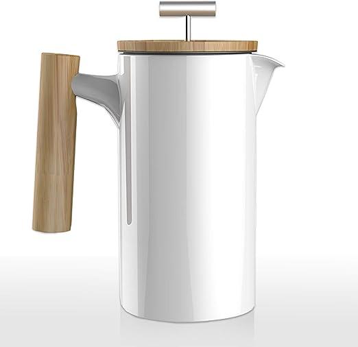Mano Nordic French Press - Cafetera de émbolo (cerámica, 0,8 L ...