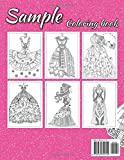 Dresses Coloring Book For Adult: Amazing And