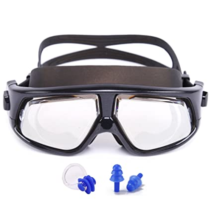 c3f8c45fdf Amazon.com   Whale Prescription Swim Goggles