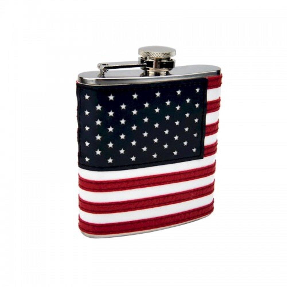 激安正規  6オンスアメリカ国旗フラスコUSA B079N635Q4 Patrioticステンレススチール B079N635Q4, 豊田郡:3827bf33 --- a0267596.xsph.ru