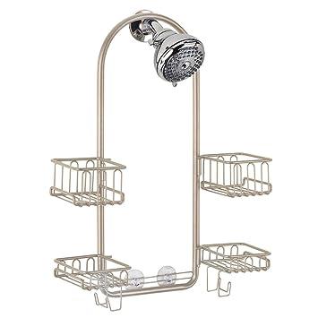 Amazoncom Interdesign Classico Handheld Shower Head Bathroom Caddy