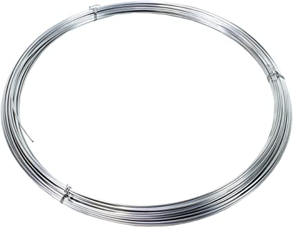 Sonstige - Rollo de alambre de acero inoxidable (1 mm, 1 kg ...