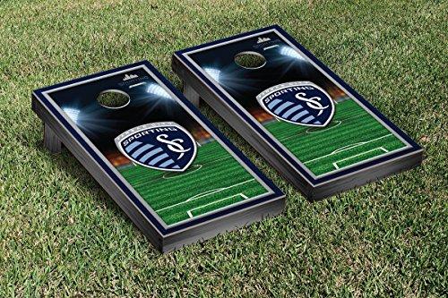 UPC 799695063291, Sporting Kansas City SC Wizards Cornhole Game Set Soccer Field Version 1