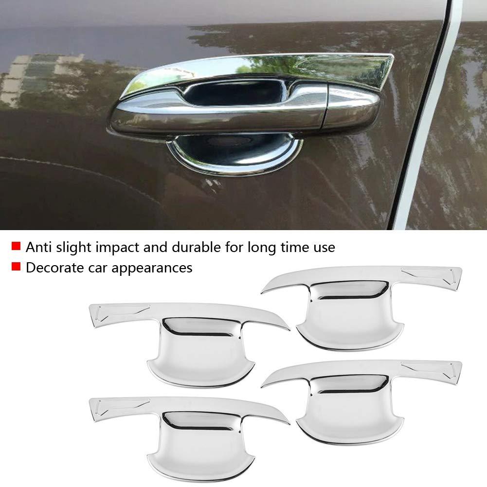 KIMISS Auto Esterno Porta Maniglia Coperchio Trim Decorazione modanatura ABS Cromato