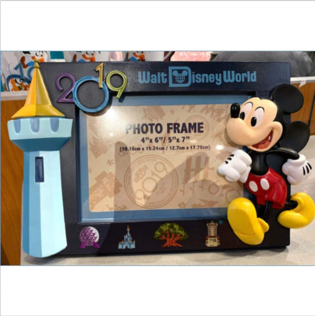 Walt Disney World 2019 4x 6 or 5 x 7 Mickey Mouse Photo Frame