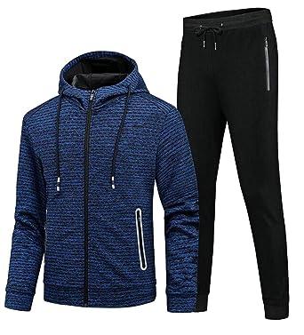 b1dc01d077 Sweatwater Men Active Activewear Hooded Sweatshirts and Sweatpants ...