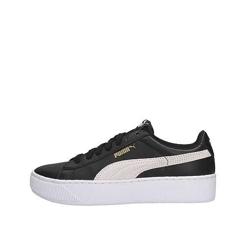 puma donna bianche e nere scarpe
