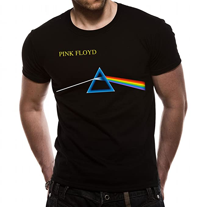 4e6f219b869 Mens T-Shirt Official License Pink Floyd Dark Side Of The Moon  Amazon.co.uk   Clothing