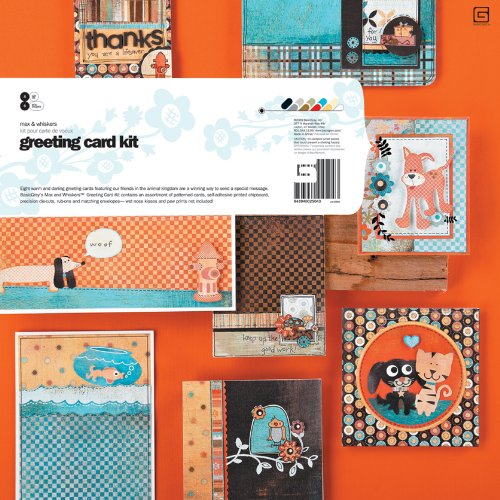 UPC 843940025043, BasicGrey Max and Whiskers Card Kit