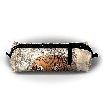 Tiger in the Snow - Estuche para lápices de estudiantes, con ...